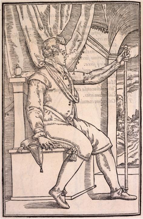 Plate 3 from Gaspare Tagliacozzi's De Curtorum Chirurgia, 1597