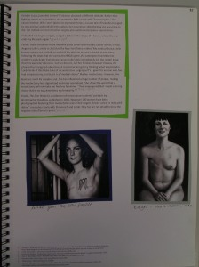Alice Ryrie, Mastectomy, Breast Cancer & Narratives (2), 2014/15