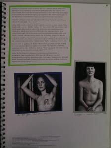 Alice Ryrie, Mastectomy, Breast Cancer & Narratives (2), 2014/15