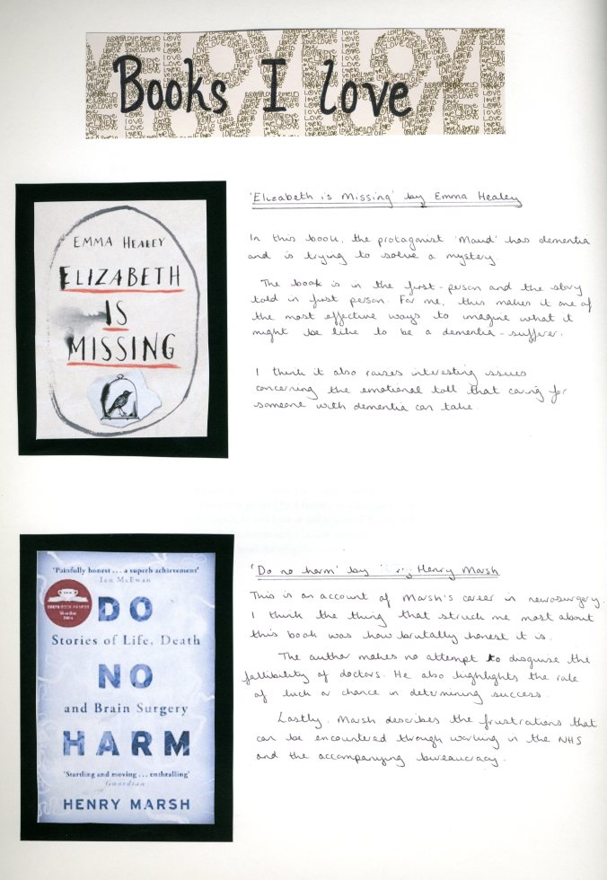 Gemma Wilson, Books I Love
